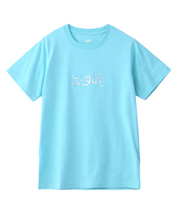 AURORA MILLS LOGO S/S REGULAR TEE, T-SHIRT, X-Girl