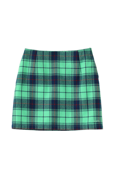 PLAID SKIRT, SKIRTS, X-Girl