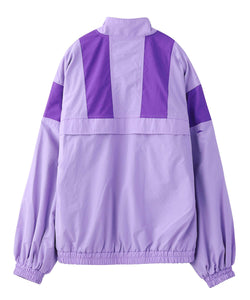 COLORBLOCK ZIP UP JACKET, OUTERWEAR, X-Girl
