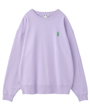 Load image into Gallery viewer, BUNNY EMBROIDERY CREW SWEAT TOP, HOODIES & SWEATERS, X-Girl