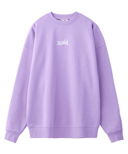 EMBROIDERED MILLS LOGO CREW SWEAT TOP R&D, HOODIES & SWEATERS, X-Girl