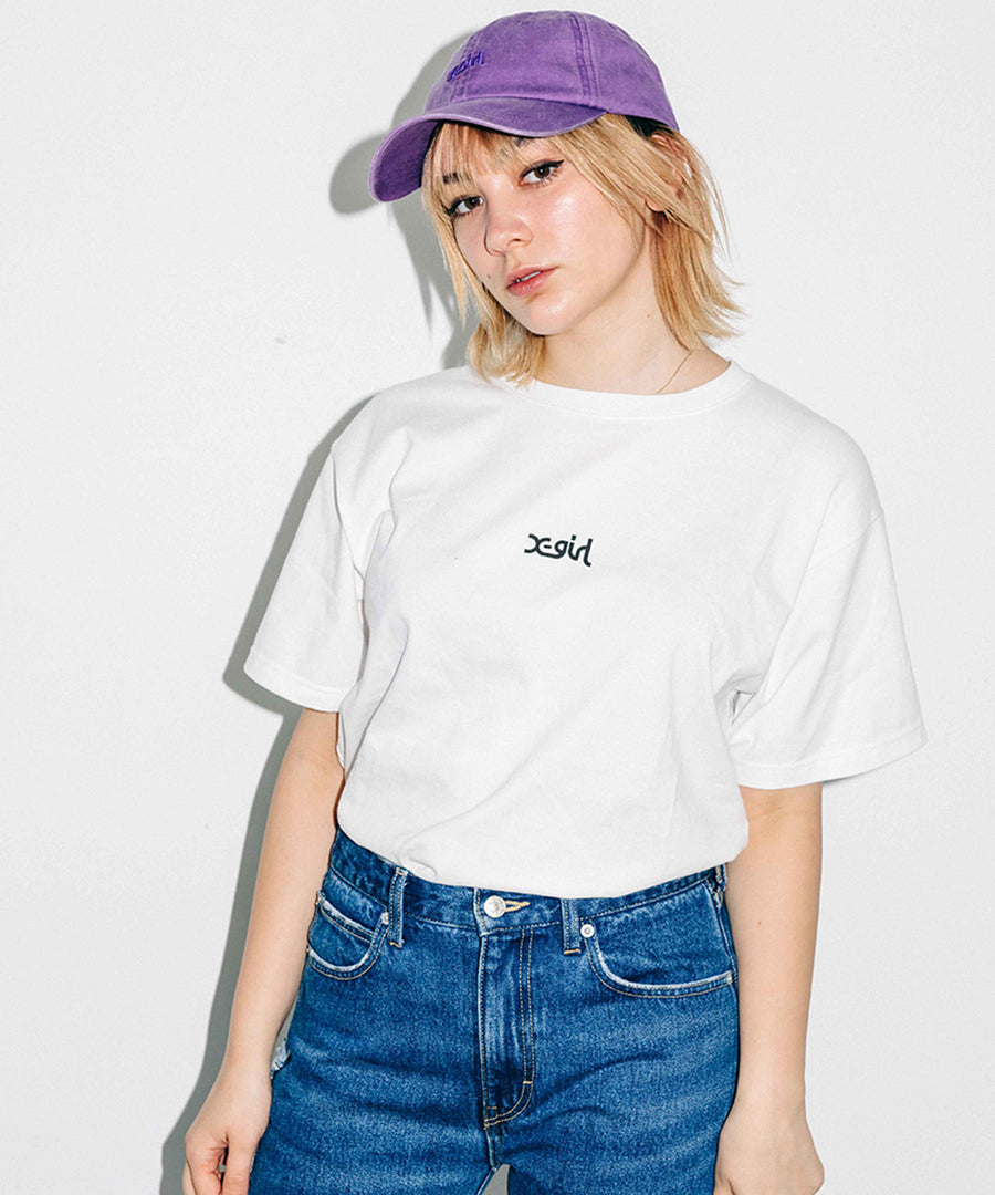 BASIC 2P S/S TEE, T-SHIRTS, X-Girl