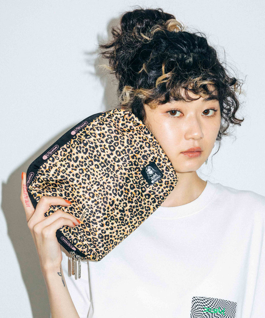 X-girl × LeSportsac EXTRA LARGE RECTANGULAR COSMETIC