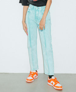 BLEACHED TAPERED PANTS, PANTS, X-Girl