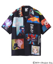 Load image into Gallery viewer, X-girl x EVANGELION OPEN COLLAR SHIRT, SHIRTS, X-Girl