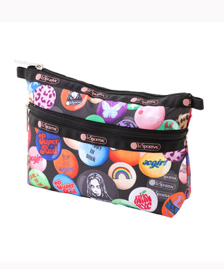 X-girl × LeSportsac COSMETIC CLUTCH