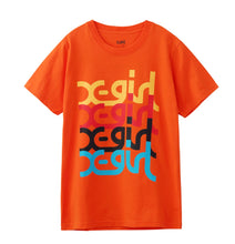 Load image into Gallery viewer, COLORFUL MILLS LOGO S/S REGULAR TEE, T-SHIRT, X-Girl