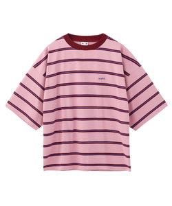 STRIPED H/S TEE, C&S, X-girl