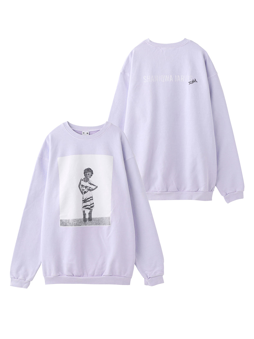 X-GIRL X S.J. SWEATSHIRT