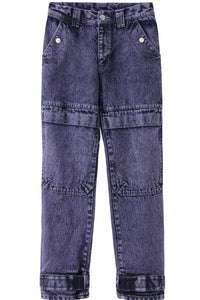 DENIM CARGO PANTS, PANTS, X-Girl