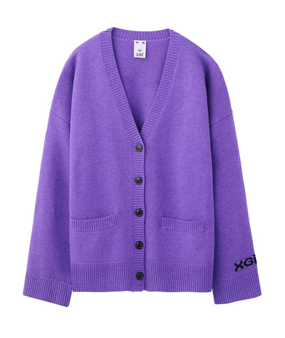 LAMB WOOL CARDIGAN, JACKETS, X-Girl