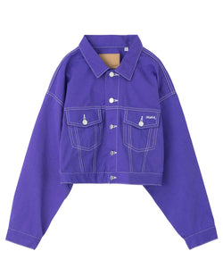 TRUCKER JACKET, OUTERWEAR, X-Girl
