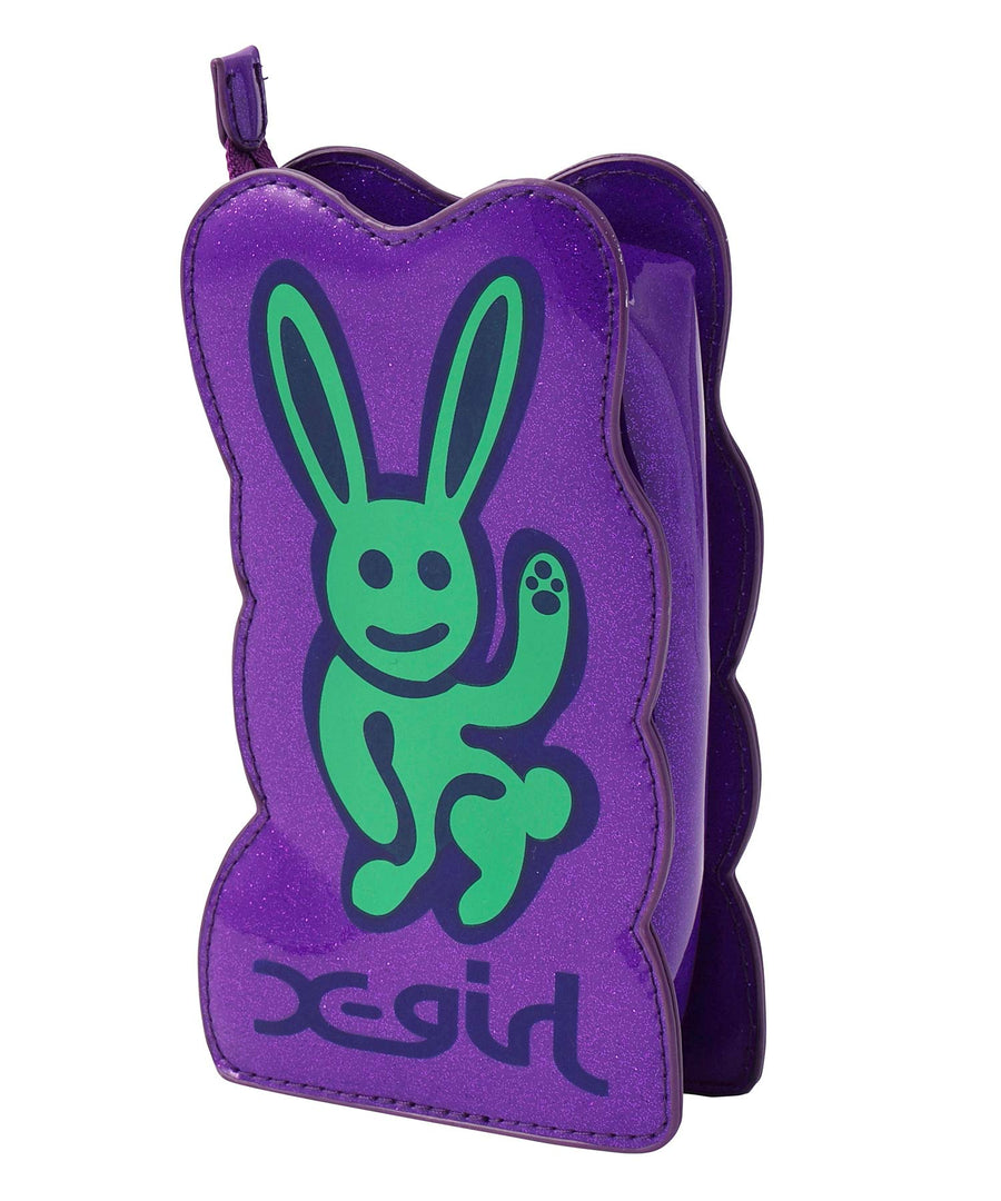 GLITTER BUNNY POUCH, ACCESSORIES, X-Girl
