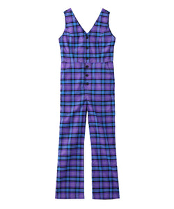 PLAID JUMPSUIT, OVERALLS, X-Girl