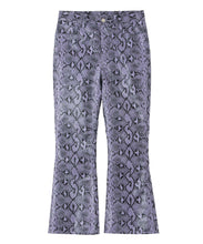 Load image into Gallery viewer, SNAKE PATTERN FLARE PANTS, PANTS, X-Girl