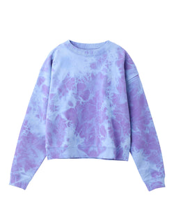 BLEACHED SWEAT TOP - X-girl