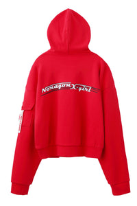 X-girl x NONA9ON SWEAT HOODIE, SWEAT, X-Girl