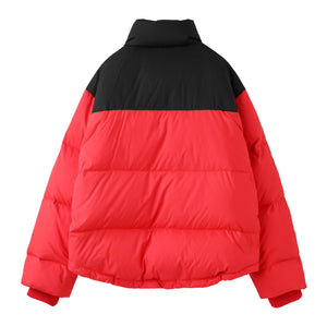 LAYERED LOOK DOWN JACKET, OUTERWEAR, X-Girl
