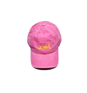 LOGO DAD CAP, HEADWEAR, X-Girl