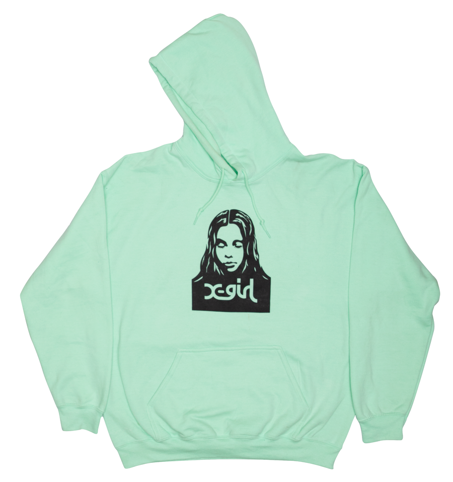 MINT HOODIE, HOODIES & SWEATERS, X-Girl