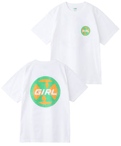 CIRCLE LOGO S/S TEE, T-SHIRT, X-Girl
