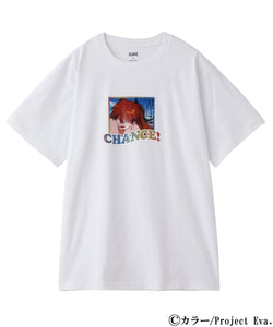 X-girl x EVANGELION CHANCE! S/S TEE, T-SHIRT, X-Girl