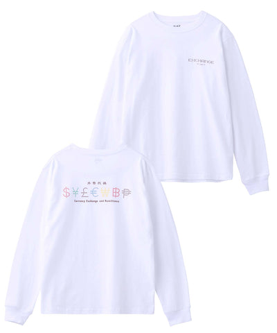 CURRENCY L/S REGULAR TEE, T-SHIRTS, X-Girl