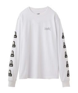FACE L/S REGULAR TEE, T-SHIRTS, X-Girl