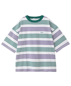 STRIPED H/S TEE 2, T-SHIRTS, X-Girl