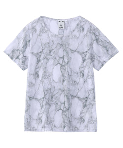MARBLE MESH S/S TOP, TOPS, X-Girl