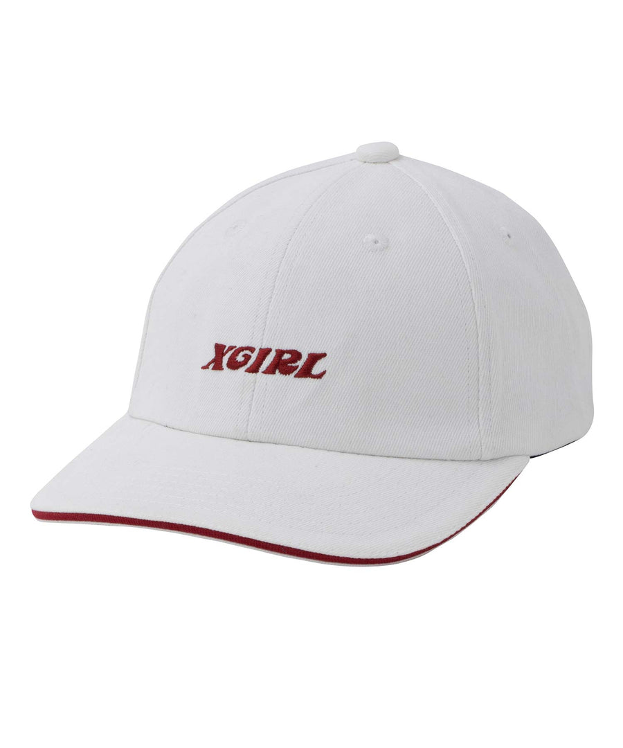 BICOLOR 6 PANEL CAP, HEADWEAR, X-Girl