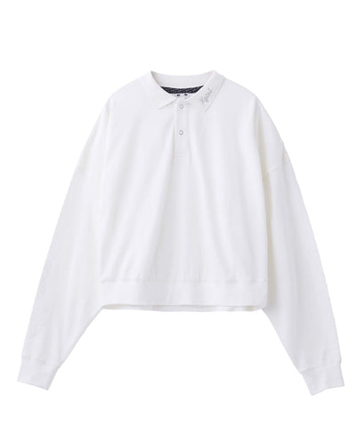 POLO L/S SHIRT, SHIRTS, X-Girl