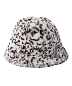 #1 LEOPARD FUR HAT, HEADWEAR, X-Girl