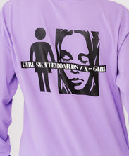 Load image into Gallery viewer, #1 X-girl x GIRL SKATEBOARDS L/S BIG TEE - X-girl