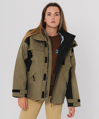 3 LAYER MOUNTAIN PARKA, JACKET, X-Girl
