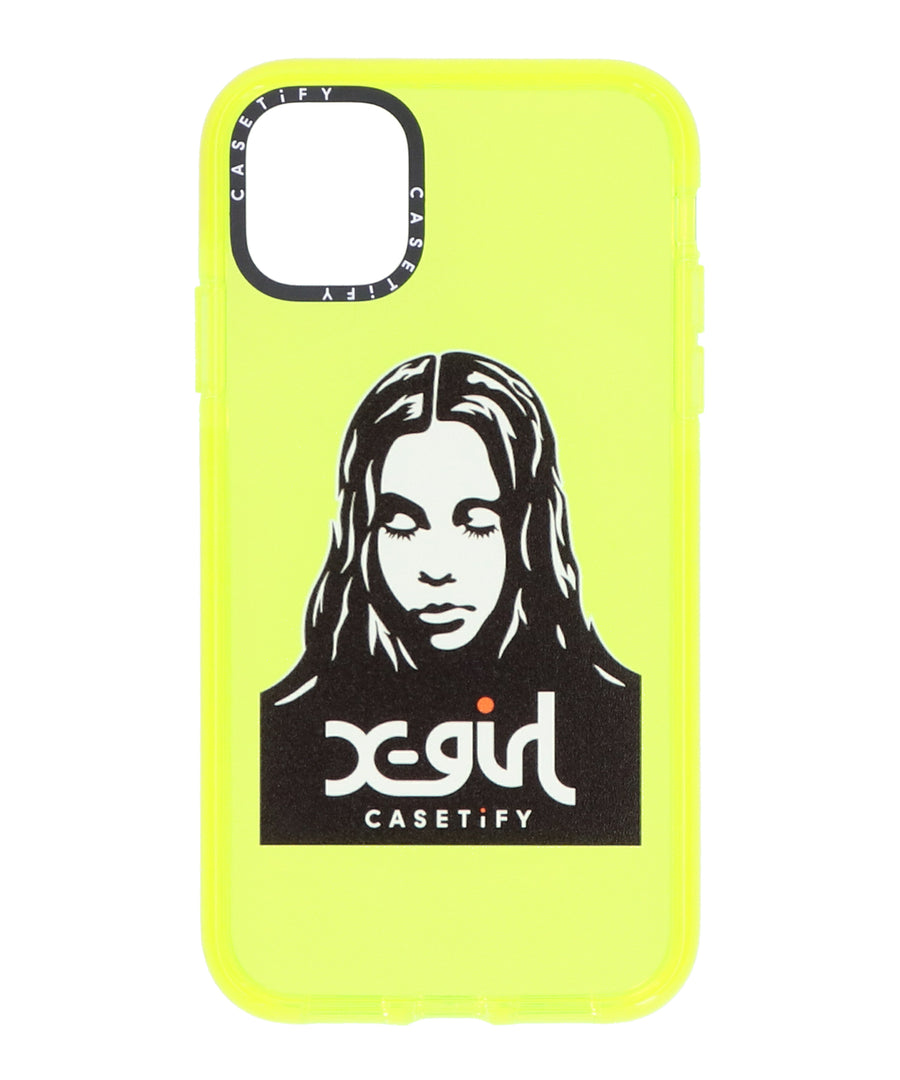 X-girl x CASETiFY MOBILE CASE for iPhone 11, ACCESSORIES, X-girl