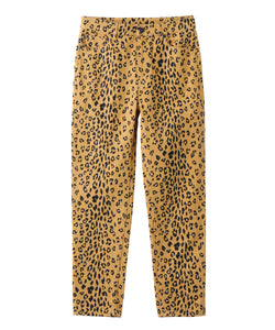 #1 LEOPARD SLIM STRAIGHT PANTS, PANTS, X-Girl
