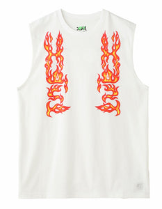 #1 FLARE LOGO TANK TOP, C&S, X-Girl