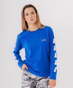 FACE L/S REGULAR TEE, T-SHIRT, X-Girl