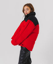 Load image into Gallery viewer, LAYERED LOOK DOWN JACKET - X-girl