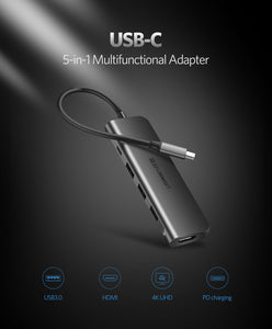 Ugreen USB-C Multiport Video Adapter - Ess3ntial