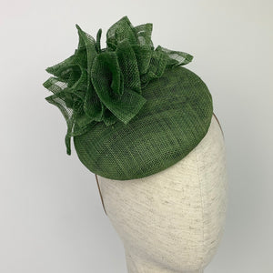 Dark green 'Esmerelda' hat
