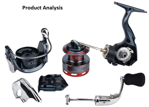 analysis of spinning fishing reels