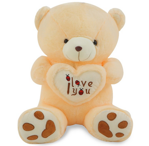 beige color teddy bear