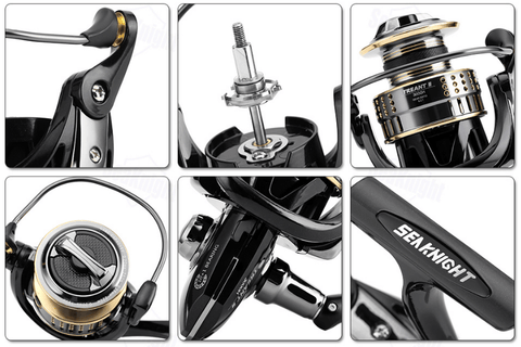 details of seaKnight fishing reels