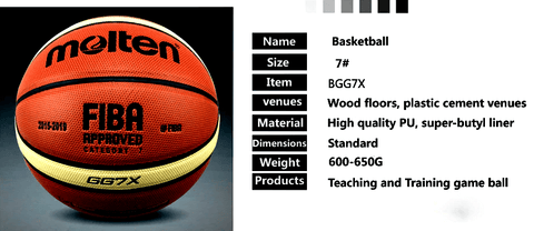 information of gg7x basketball