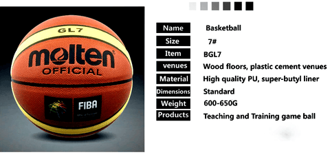 information of gl7 basketball