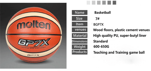 information of molten gp7x basketball