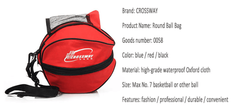 information of sports ball carry bag