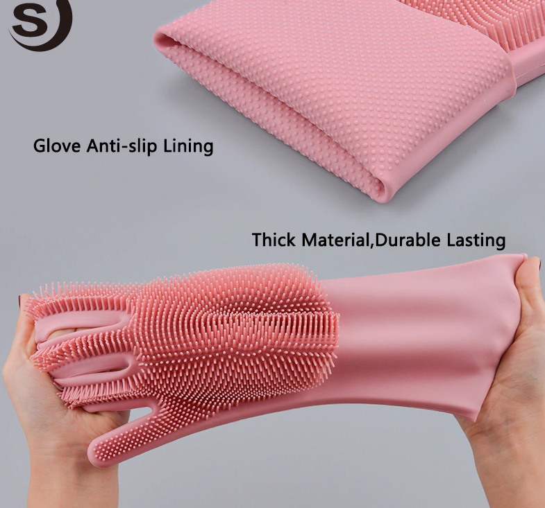 magic silicone gloves durable and lasting